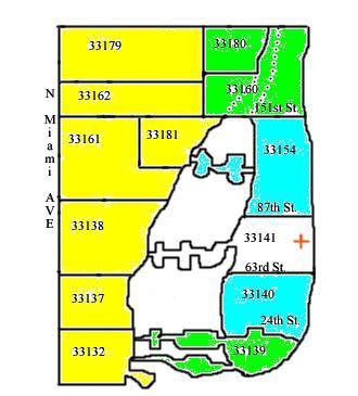 Miami Beach Zip Code Map Nila's Flowers   Deliveries Miami Beach Zip Code Map